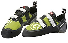 Rock Pillars - Strike QC Velcro, green, Gr. UK 13,0