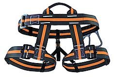 Skylotec - Klettergurt SC 106 Hüftgurt ungepolstert, black/orange, Gr. M