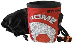 Stubai - Chalkbag Dome II, rot/schwarz