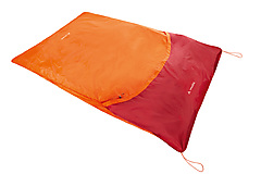 VauDe - Biwaksack Biwak II. 2, glowing red