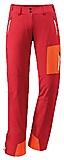 VauDe - Women Ducan Softshell Pants, red, Gr. 40