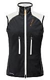 VauDe - Women Larice Softshell Vest, black, Gr. 38