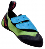 Wild Climb - Kinder Kletterschuh First Step, green/blue, Gr. 28