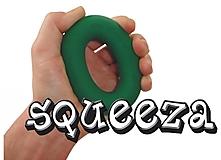 Aliens - Armtrainer Squeeza, grün, Stärke: Soft