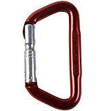 AustriAlpin - Karabiner Universal Evo D-Form, rot eloxiert