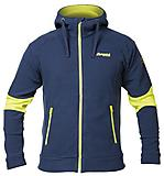 Bergans - Fleece Hareid Jacket, navy/citrus, Gr. S