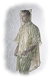 Coghlans - Notfall-Poncho, transparent