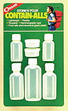 Coghlans - Kunststoffdosensortiment, 7 teilige Weithalsflaschensammlung