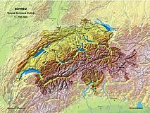 MBM Systems - Schweiz 1:750 000