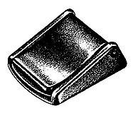 National Molding - Kunststoff Schließe Klemmdeckel/Jam Lever Buckle, black, 25mm