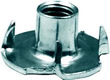 Rocksports - Einschlagmutter mit Dorn, verzinkt, für  M10er Schrauben