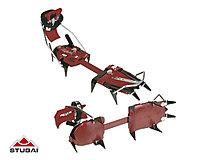 Stubai - Antistollplatte für Steigeisen Stubai Trekking / Light, rot